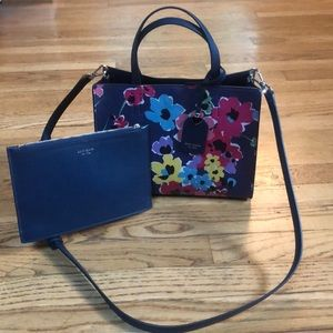 Kate Spade Sam Wildflower satchel NWOT